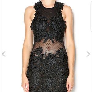 Lace Bodycon Mini Dress